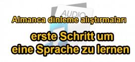 Almanca: A2 düzeyinde dinleme alıştırmaları